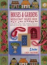 Houses and Gardens Needlecraft Source Book: 250 Designs for Cross Stitch, Needl