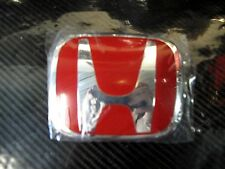 GENUINE HONDA TYPE R BADGE EMBLEM RED H GRILL 92mm x 75mm 75700-SYY-J01