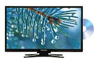 """BRANDED 22"""" QUALITY FULL 1080P HD HDMI SLIM LED TV FREEVIEW MULTI-REGION DVD USB"""