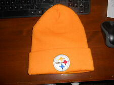 PITTSBURGH STEELERS NWOT YELLOW KNIT WINTER BEANIE HAT