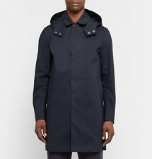 Mackintosh GR-010 Navy Hooded Raincoat, size 38 - BNWT, RRP £880