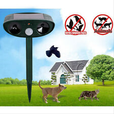 Yard Sentinel Ultrasonic Bird Dog Cat Repeller Animal Repeller Safety Repels