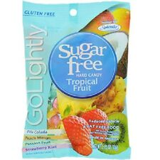 Go Lightly Sugar-Free Tropical Hard Candy, 2.75-oz. Bag (Pack of 2)