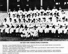 1947 NEW YORK YANKEES BASEBALL WORLD SERIES CHAMPIONS 8X10 TEAM PHOTO