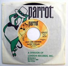 PATSY FULLER 45 Just One Answer / I Don't Wanna Love You VG++ Pop PROMO f674