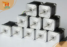 USA Free Ship10pcs Nema17 wantai stepper motor 42BYGHW804 4800g.cm 1.2A Printer