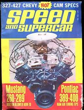 Speed And Supercar Magazine October 1967 Pontiac 389-400 VG No ML 011117jhe