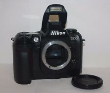 Nikon D100 6.1MP Digital SLR Camera Black Body only . Free Warranty