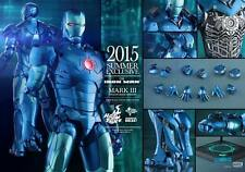 HOT TOYS IRON MAN MARK 3 III Stealth DIECAST MMS314 NEW SEALED USA SELLER