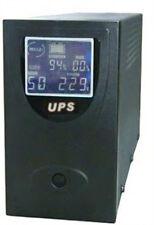 UPS 1500 VA LCD gruppo di continuità PC STAR con cavo USB e CD Drivers ottimo