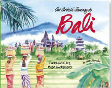 BETTY REYNOLDS-ARTISTS JOURNEY TO BALI AN  BOOK NEW