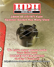 HONDA TYPE MOTORCYCLE ATC DIRT BIKE 24mm OIL FILTER & CLUTCH SPANNER TOOL CB CL