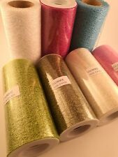 15cm Web Glitter Mesh Ribbon Wedding ,Christmas Tree Decorations