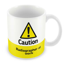 Caution Radiographer at work Mug 320