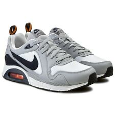 Nike Men's Air Max Trax Running Shoes 620990 110 White/Obsidian/Grey/Citrus S 10