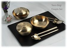 Korean Royal Court Cuisine Dinnerware Bangjja Yugi Yeon-Sikgi Couple Set