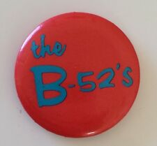 RARE Vintage 1980 the B-52s Wild Planet Promo pinback button pin badge 80s Band