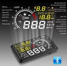 5.5 Inch Car Heads-up Display X3 OBD2 II Speedometer Projector Display New