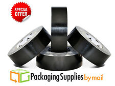 BLACK VIBAC DUCT TAPE 2 INCH x 60 YARDS 7.0 MIL THICK 24 ROLLS/CASE
