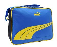 Puma Sports Sole Bag Messenger Reporter Bag Blue Yellow new with tag