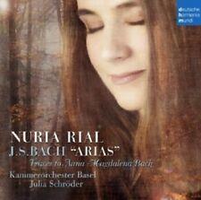NURIA/KAMMERORCHESTER BASEL/SCHRÖDER,JULIA RIAL - BACH: ARIAS  CD NEU