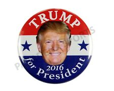 "2016 DONALD TRUMP for PRESIDENT 2.25"" CAMPAIGN BUTTON, dtds"