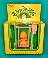 Vintage Cabbage Patch Kids Rocking Babies Toy Baby TOMY 1983 RARE 80s NOS cpk