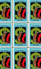 1984 - CREDIT UNION ACT - #2075 Full Mint -MNH- Sheet of 50 Postage Stamps