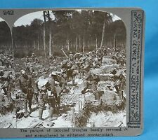 WW1 Stereoview Parapet Of Captured Trenches Reversed Realistic Travels