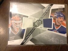GRANT FUHR - GLENN ANDERSON 08-09 UD SPX WINNING COMBOS 2C DUAL JERSEY WC-FA