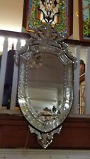 Ruby Venetian Mirror Large 48""