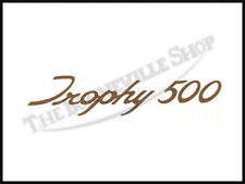 TRIUMPH T100 ' TROPHY 500 ' SCRIPT SIDEPANEL DECAL PN#TBS-S111
