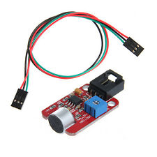 Geeetech High Sensitivity Analog Voice Sound Sensor Module and 3pin jumper cable