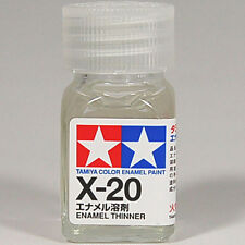 TAMIYA COLOR ENAMEL X-20 Thinner 10ml MODEL KIT PAINT NEW