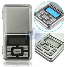 Stainless Steel Digital 500g x 0.1 Gram Pocket Precision Scale for Gold Jewelry