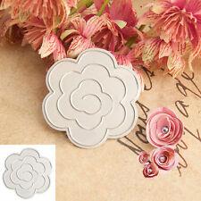 Cool Flower Design Cutting Dies Stencils DIY Scrapbooking Album Decorative Craft