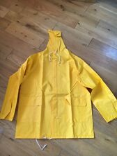 SMART GUARD PROTECTIVE YELLOW COVERALL TOP  SIZE LARGE  T6566