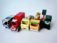 Lot of 5pcs Learning Curve Bob the Builder Metal Diecast Toy Cars New Loose