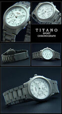 TITANOWOMEN'S AVIATOR TITAN CHRONOGRAPH WATCH 5 TIGHT NEW BAR WATER