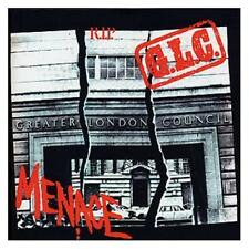 Menace G.L.C. R.I.P. Best Of CD NEW SEALED Punk Insane Society/I Need Nothing+