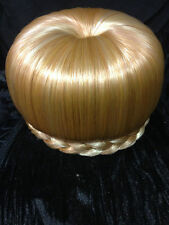 Paparazzi bailarina pelo Bun Donut cúpula hair piece Instante Updo Honey Blonde