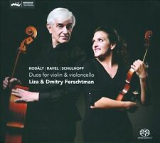 Kodaly, Ravel, Schulhoff: Duos for Violin & Cello Super Audio Hybrid CD (CD,...