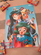 TENCHI MUYO FX PC NEC PC-FX JAPAN B2 SIZE OFFICIAL POSTER!