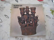 THE POTTER'S ART IN AFRICA BY WILLIAM FAGG JOHN PICTON 1970 BOOK CATALOGUE