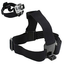 Stirnband Headband Kopf Halterung Halter Mount GoPro HERO Action Kamera Sports
