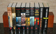 9 Terry Goodkind 1st Edition Hardcovers: A Sword of Truth Series