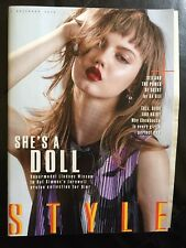 SUNDAY TIMES STYLE MAGAZINE NEW LINDSEY WIXSON DIOR RAF SIMONS HANDLER ANDERSON