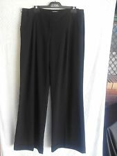Portmans Ladies Pants in Black with Turn ups and Two side Pockets Size 14