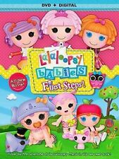 Lalaloopsy Babies: First Steps (DVD, 2014)