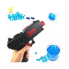 New Water Crystal Gun 2-in-1 Air Soft Gun Soft Bullet Gun Pistol Toy CS Game Toy